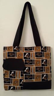 Purdue Boilermakers Black and Gold Tote