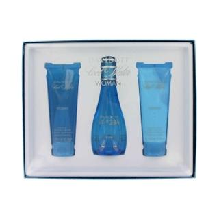 Cool Water 3.4 oz EDT Perfume GIFT SET by  Davidoff for Women
