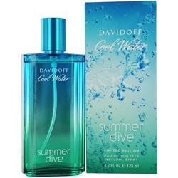 Cool Water Summer Dive 4.2 oz Cologne by  Davidoff for Men
