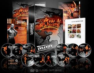 13 SET INSANITY DVD BY SHAUN T