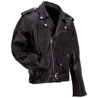 Diamond Plate Motorcycle Jacket (Size: `XL)