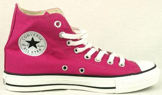 Converse All Star Hi Shoes - Gothic Cactus Flower